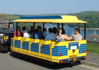 The train for Fowey Town Tour